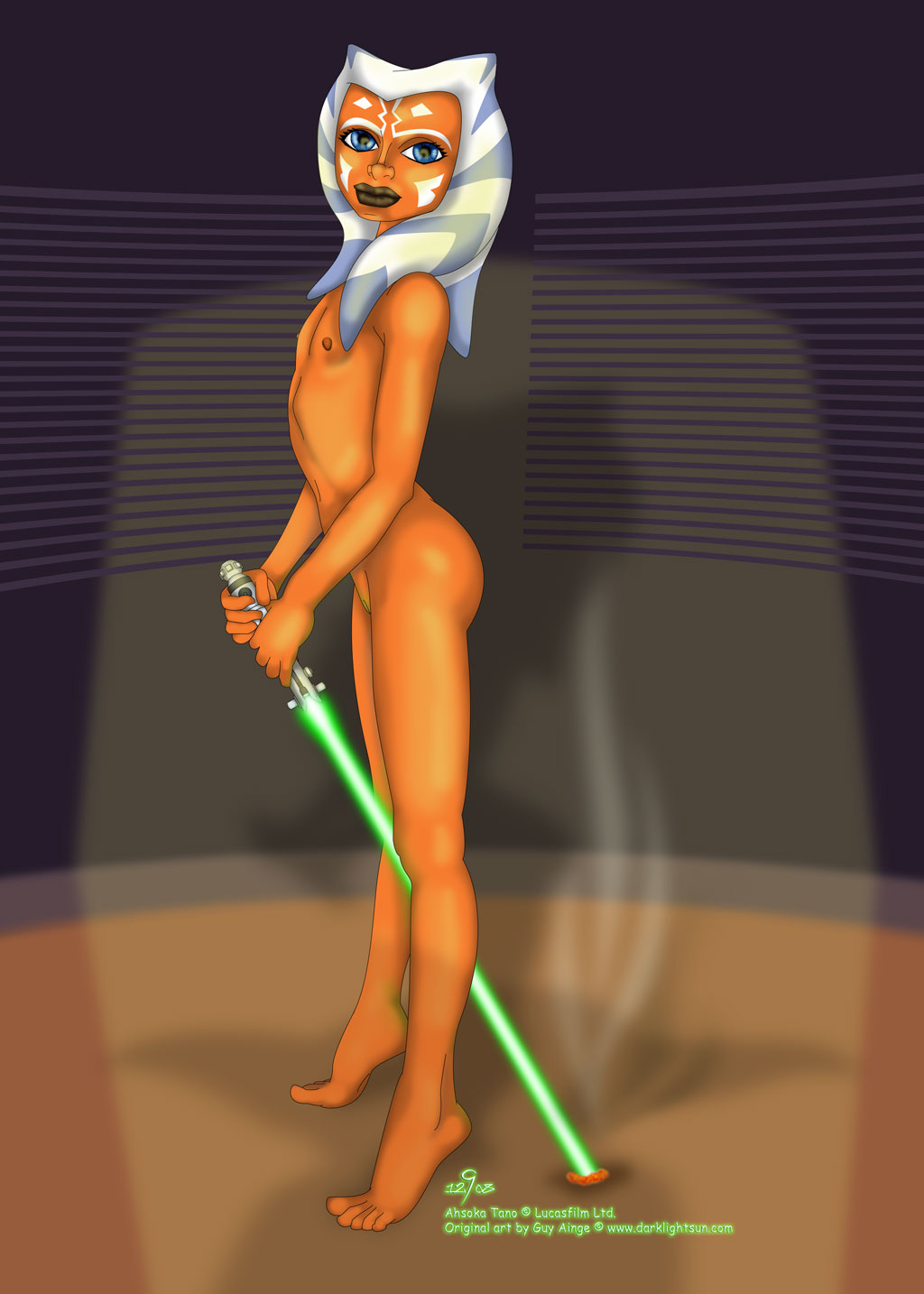 Star wars naked chicks